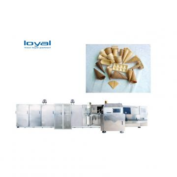 Industrial Egg Sugar Ice Cream Cone Wafer Biscuit Egg Roll Wafer Stick Making Machine