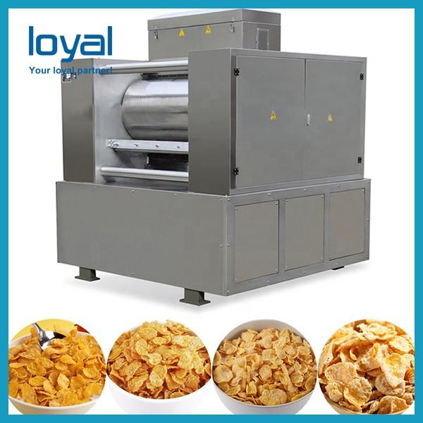 Stainless Steel Breakfast Cereals / Corn Flakes Making Machine For Cereal Snacks #2 image