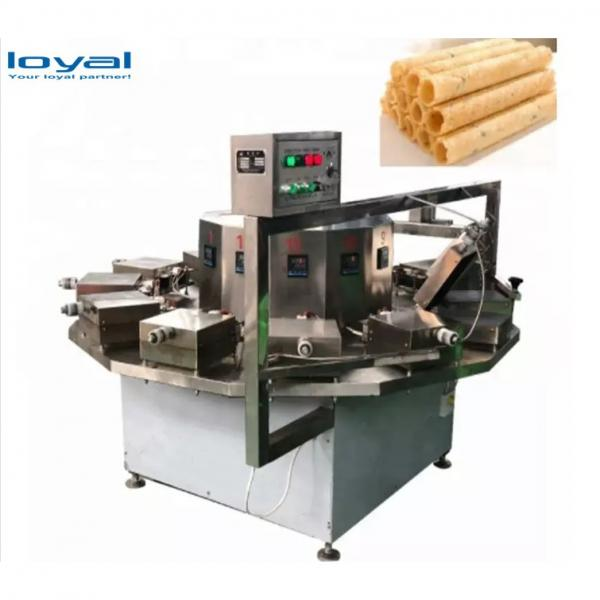 Full Automatic Ice Cream Cone Rolling Making Egg Roll Roller Ice Cream Cone Baking Machine #2 image