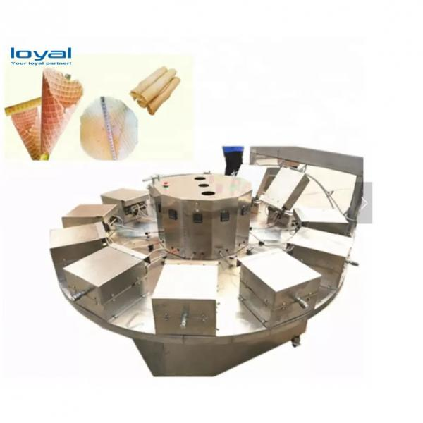 Full Automatic Ice Cream Cone Rolling Making Egg Roll Roller Ice Cream Cone Baking Machine #1 image