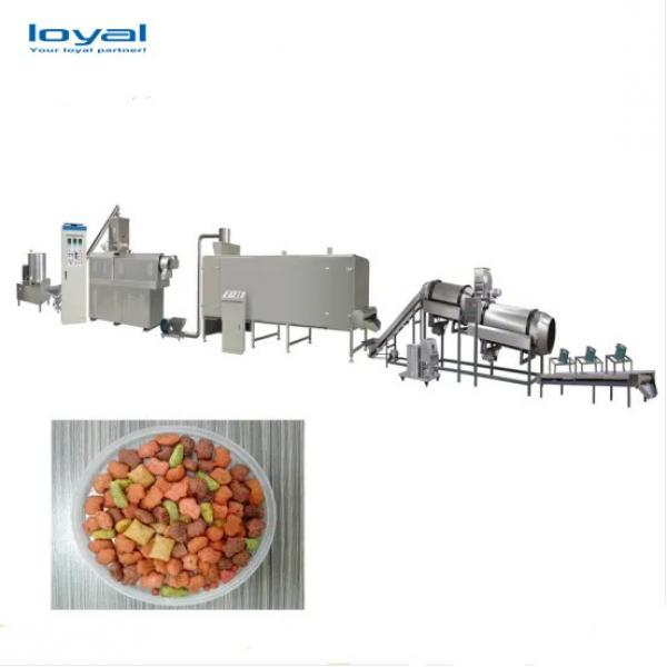 Industrial Automatic High Efficiency Pet Food Machine/Big Output Automatic Food Production Line For Pets #3 image