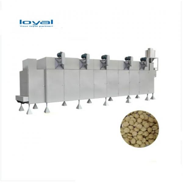 Industrial Automatic High Efficiency Pet Food Machine/Big Output Automatic Food Production Line For Pets #2 image