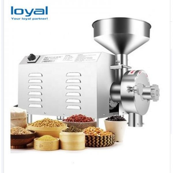 Small Dried Herbs Grinder Rice Flour Making Pulverizing Dry Chilli Powder Milling Making Machine #2 image